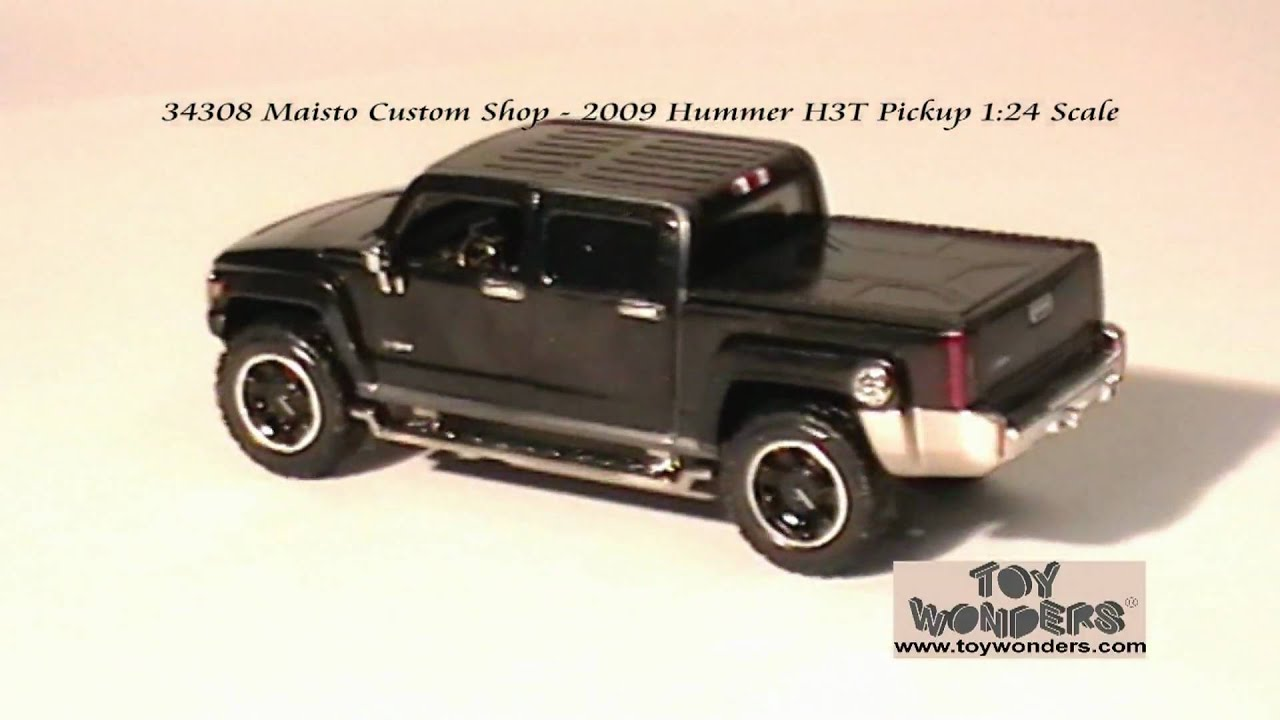 2009 Hummer H3T Pickup 124 Maisto Diecast Wholesaleg