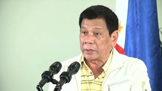 Philippines' Duterte calls Obama 'son of a whore'