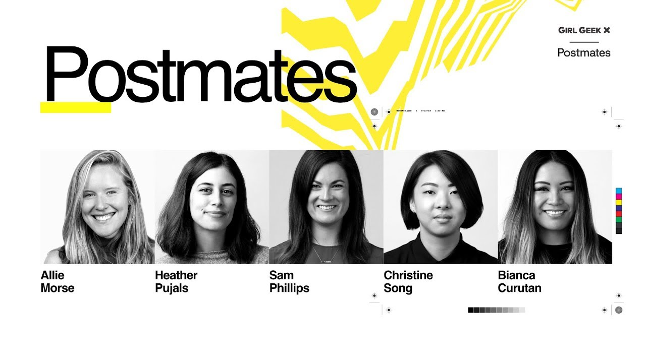 Girl Geek X Postmates Lightning Talks & Panel (Video +