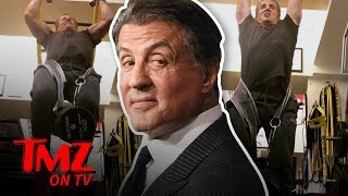 Sylvester Stallone's Workout Is Incredible! | TMZ TV