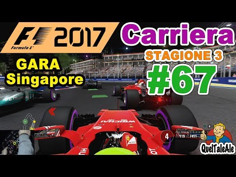 F1 2017 - PS4 Gameplay ITA - T300 - Carriera #67 - GARA Singapore - Di cattiveria