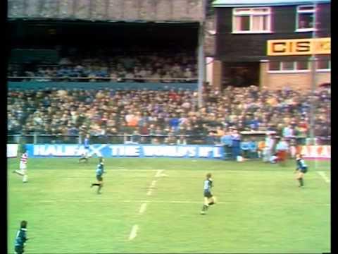 Newbridge V Japan 18th October 1983