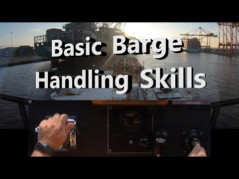 Basic Barge Handling Skills - Split Screen