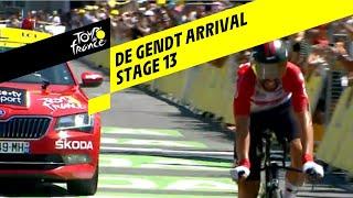 Thomas de Gendt voorlopig snelste in tijdrit Tour de France 2019