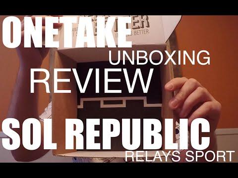 SOL REPUBLIC RELAYS SPORT UNBOXING/REVIEW