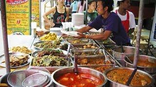 Уличная еда Бангкок и в Тайланде