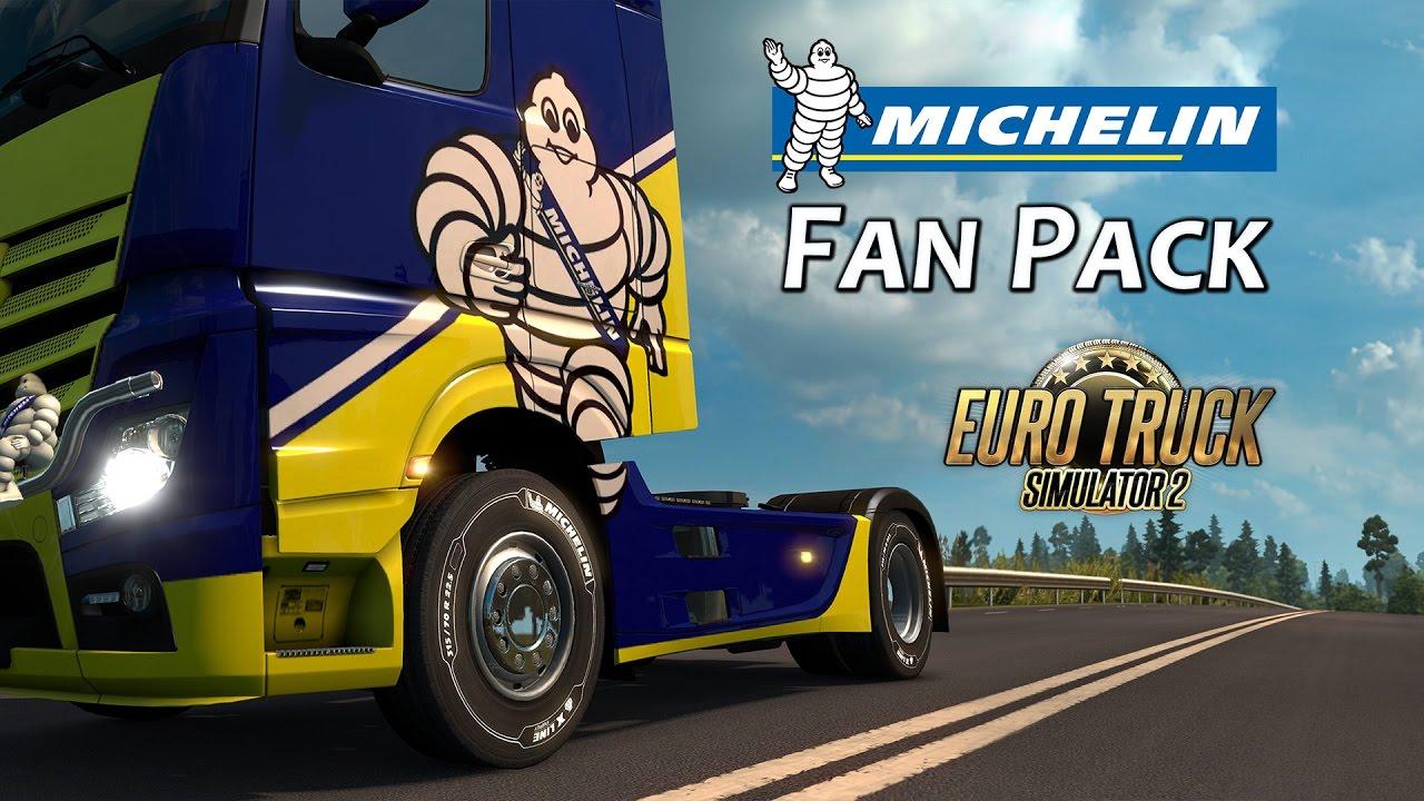 Euro Truck Simulator 2 - Michelin Fan Pack DLC