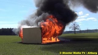 [FEUER] - Entstehung & Verlauf von einem Zimmerbrand || Einsatz für die Feuerwehr Altburg [Calw]