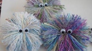 Googlie Guy Tutorial, Yarn Craft Tutorial