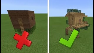 HOW TO MAKE A TREE HOUSE IN MINECRAFT!