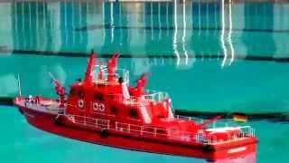 RC SHIP DÜSSELDORF SAR TRAWLER ZOLL POLICE BOAT