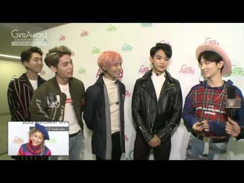 [ENG SUB]151024 SHINee Girls Award Interview