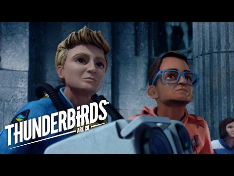 Thunderbirds Are Go | Gordon and Brains Get Trapped in Atlantis