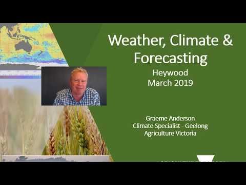 Heywood Climate Update March 2019