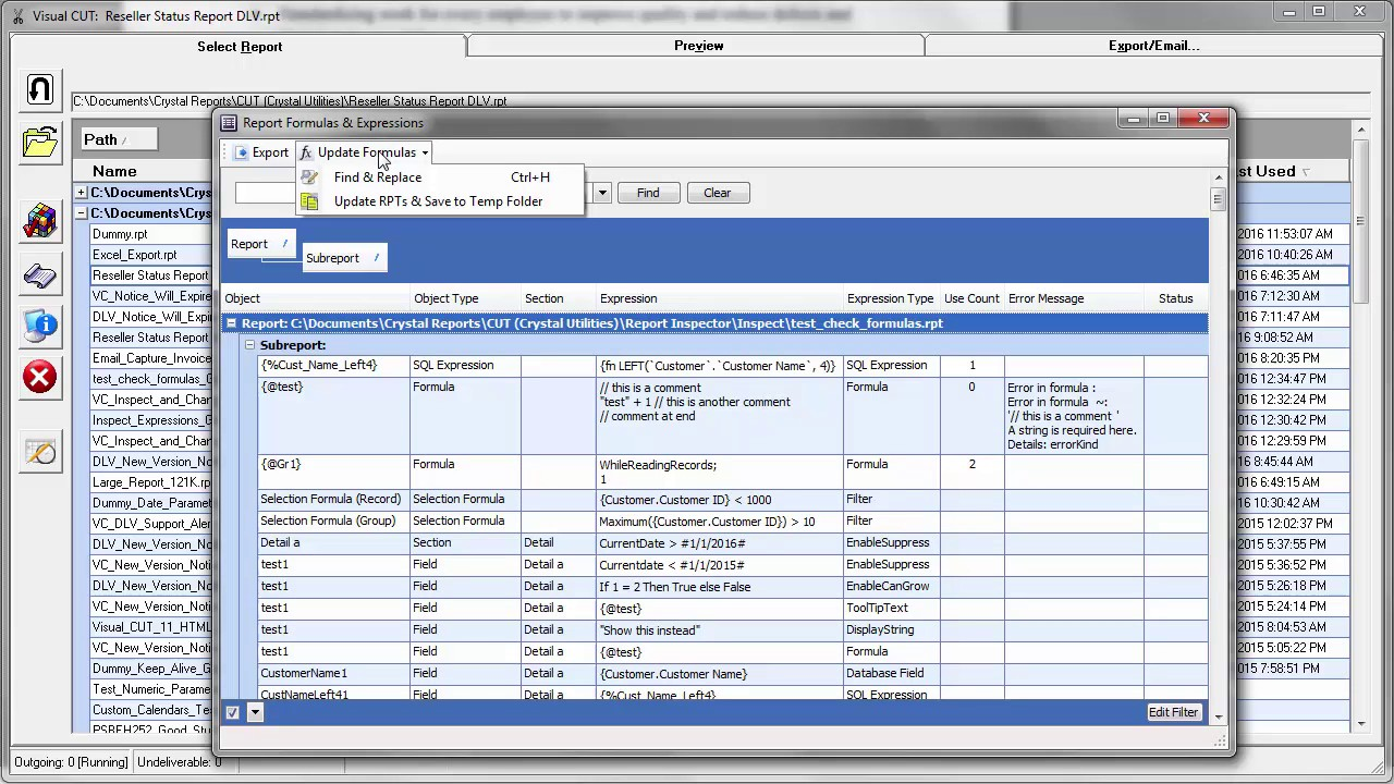 Download free Crystal Reports Developer Edition for windows