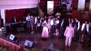 """""""The Battle is not yours """" - Nelisiwe Dlamini performing at"""