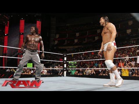 R-Truth vs. Bo Dallas: Raw, July 28, 2014