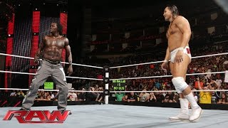 R-Truth vs. Bo Dallas: Raw, July 28, 2014