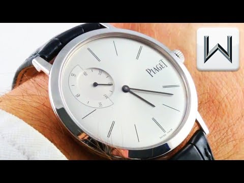 Piaget Altiplano Ultra Thin (6.8mm!) G0A33112 Luxury Watch Review