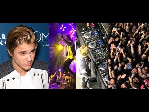 Justin Bieber 21st Birthday Party W/ Martin Garrix (ALL CLIPS + Red Carpet) Omnia, Las Vegas 2015