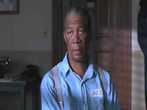 The Shawshank Redemption (morgan freeman release from prison scene)