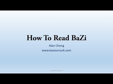 How To Read A Bazi Chart?