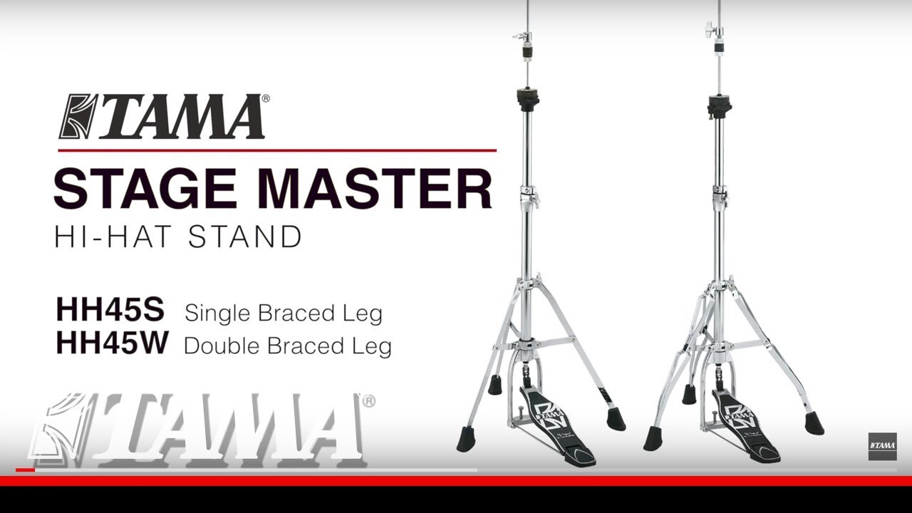 Tama Stage Master Hi Hat Stand Youtube