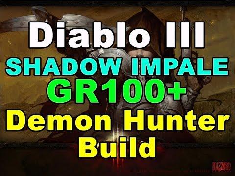 COLD IMPALE GR95+  Demon Hunter Build (Diablo 3)