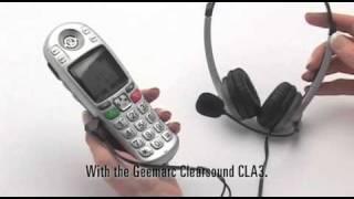 Big Button DECT Telephone: AMPLIDECT285