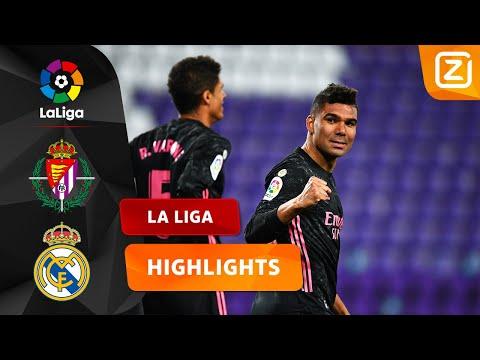 DRIEMAAL IS SCHEEPSRECHT! ⚽   Real Valladolid Vs Real Madrid   La Liga 2020/21   Samenvatting