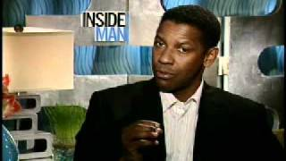 Denzel Washington interview for Inside Man 2006.