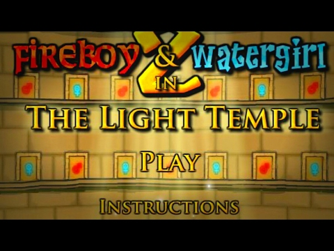 Fireboy and Watergirl in the Light Temple!!! | Kizi.com