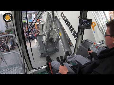 Liebherr R9200E Face Shovel Operators View