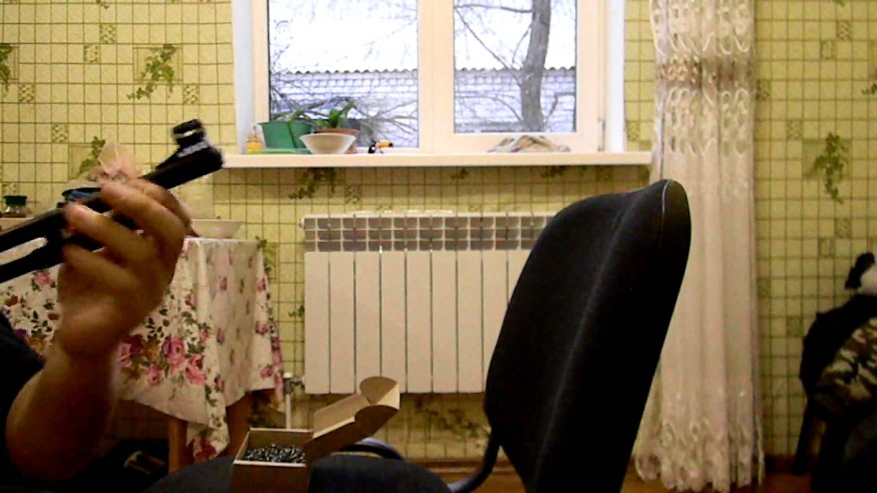 пневматика ИЖ-61 ДЕШЕВЫЙ АПГРЕЙД ВИНТОВКИ - YouTube