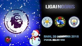 Jadwal Pertandingan Liga Inggris Leicester Vs Manchester City, Rabu Pukul 22.00 WIB