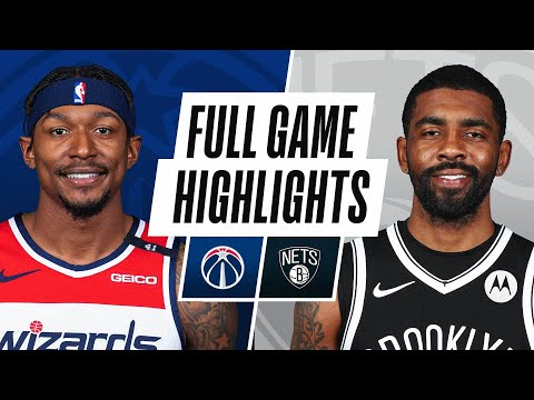 WIZARDS at NETS   FULL GAME HIGHLIGHTS   January 3, 2021