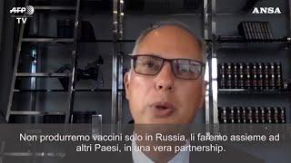 Il capo del fondo russo per gli investimenti diretti (rdfi) kirill dmitriev, dopo l'annuncio di putin su sputnik v