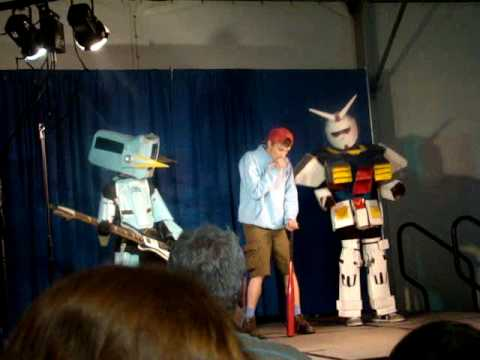FLCL Meets Gundam...and the Waffle Song