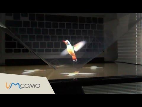 Fazendo Holograma Caseiro Passo a Passo
