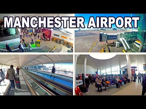MANCHESTER AIRPORT - UNITED KINGDOM 2017 4K