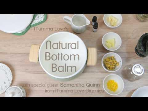 Mumma Love Organics' natural bottom balm (nappy balm) recipe