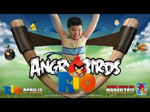 Gamer Angry Birds RIO Grem ONE