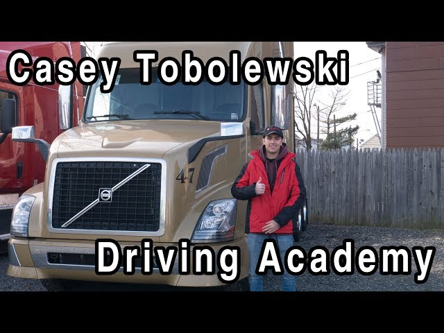 20 Year Old - Casey ACED his CDL Road Test - Driving Academy Student Testimonial