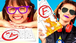 FIRST DAY vs LAST DAY at School || BACK TO SCHOOL Funny Awkward Situations By KABOOM!