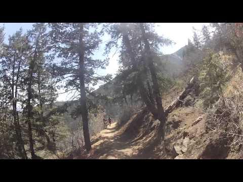 helmet cam running barr trail
