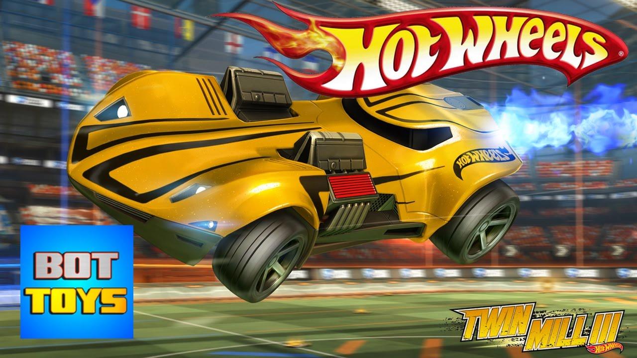 Juegos De Autos Hot Wheels Naranja Y Azules Jugando Con Pelotas