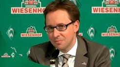 Pressekonferenz: WIESENHOF als Haupt- und Trikotsponsor des SV Werder Bremen