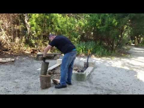Fiskars X27 splitting axe & 8lb maul quick review