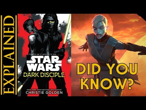 Fun Facts from Dark Disciple - References, Easter Eggs, Legends Connections, and More!