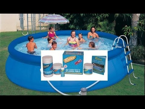 Advice easy guide on swimming pool chemicals for above ground intex bestway splasher pools for Chemicals needed to close swimming pool